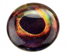 3D Epoxy Fish Eyes, Holographic Pike, 12 mm