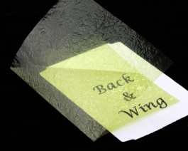 Fine Back & Wing Foil, Yellow