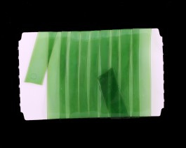 Stretch Glass, 10mm, Green