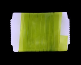 Stretch Glass, 10mm, Chartreuse