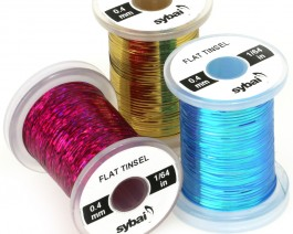 Flat Tinsel 0.4 mm