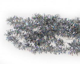 Tinsel Chenille, Holographic Silver