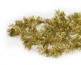 Tinsel Chenille, Holographic Gold