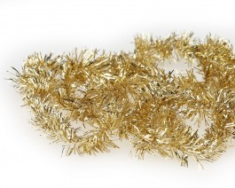 Tinsel Chenille, Metallic Gold