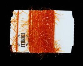 Chenille Vibrant, Burnt Orange