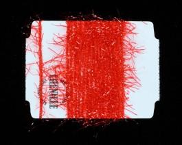 Chenille Vibrant, Red