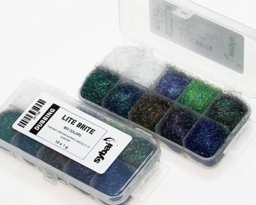 Lite Brite Dubbing, Box, Mix Colors