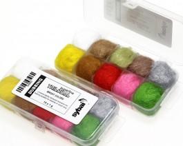Trilobal Superfine Dubbing, Box, Bright Colors