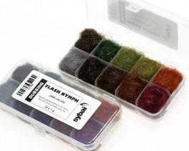 Flash Nymph Dubbing, Box, Dark Colors