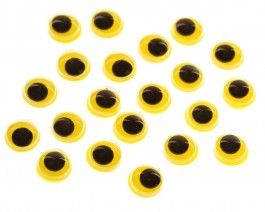 Floating Eyes, Yellow, 7 mm