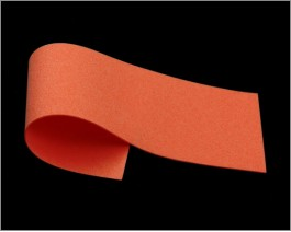 Razor Foam, Orange, 1 mm