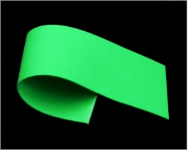 Razor Foam, Green,  2 mm