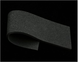 Sheet Soft Foam, Black,  2 mm