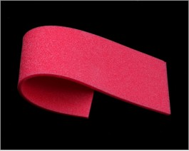 Sheet Soft Foam, Red, 3 mm