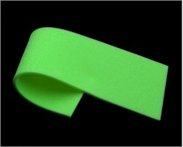 Sheet Soft Foam, Green, 2 mm