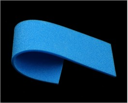 Sheet Soft Foam, Blue, 3 mm