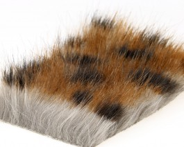 Craft Fur Medium, Brown Panther, 100x140 mm
