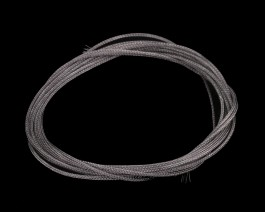 Braided Tubing, Large, Gray, 2 m