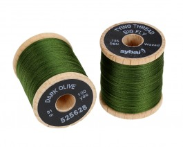 Tying Thread Big Fly, Dark Olive