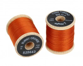 Tying Thread Big Fly, Burnt Orange