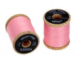 Tying Thread Big Fly, Bright Pink
