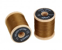 Tying Thread Big Fly, Golden Brown