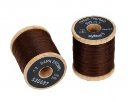 Tying Thread Big Fly, Dark Brown