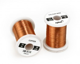 Colour Wire, 0.1 mm, Copper