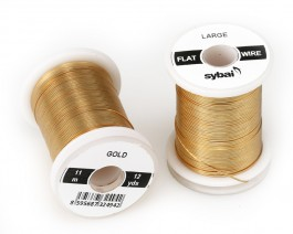 Flat Colour Wire, Large, Gold