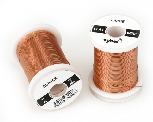 Flat Colour Wire, Large, Copper