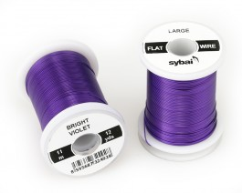 Flat Colour Wire, Large, Bright Violet