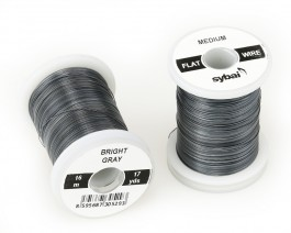 Flat Colour Wire, Medium, Bright Gray