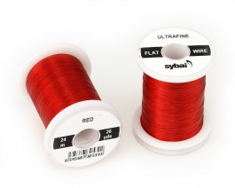 Flat Colour Wire, Ultrafine, Red