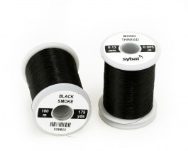 Mono Thread, 0.13 mm, Black Smoke
