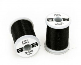 Mono Thread, 0.15 mm, Black Smoke