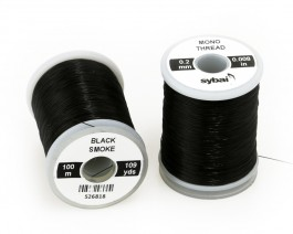 Mono Thread, 0.2 mm, Black Smoke