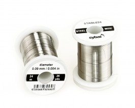 Stainless Steel Wire, 0.09 mm