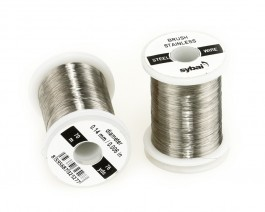 Brush Stainless Steel Wire, 0.14 mm, 70 m